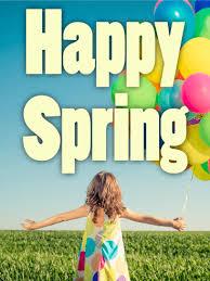 Spring Photo Cards Happy Girl Spring Card Birthday Greeting Cards By Davia