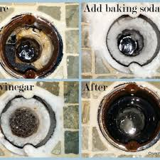 h sink unclog with vinegar and baking soda your drain