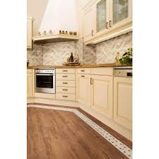 Kitchen Flooring Home Depot Daltile Parkwood Cherry 7 In X 20 In Ceramic Floor And Wall Tile