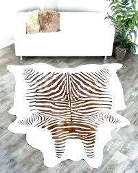 animal print rugs calfskin rug cowhide giraffe for leopard zebra ikea faux fur hide brow