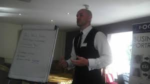 Networking Delivering Your 10 Minute Presentation Leon Streete