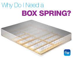 Amazing Box Spring Mattress Why Do I Need A Box Spring With My Mattress  Gardner White Blog
