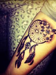 Beautiful Dream Catcher Tattoos
