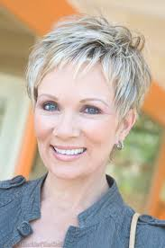 Hairstyles Short Haircuts For Fine Hair Over 60 Marvelous Women
