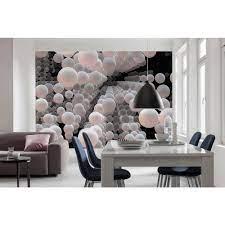 Komar Abstract 3D Spherical Wall Mural ...