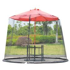outdoor mosquito net patio umbrella