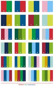 Pioneer color combinations