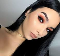 1 add a pop of color to your look with a bright peach eyeshadow pic originally posted by insram komunikatywnie