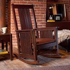 dark wood rocking chairs on dark pergo