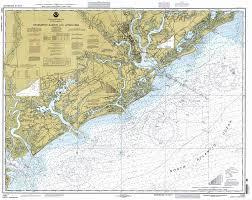 Charleston Nautical Chart Amazon Com Map Charleston Harbor And Approaches 1997