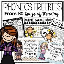 Phonics lays a foundation for fluent reading, spelling, and understanding word structures. Free Phonics Worksheets And Games By 180 Days Of Reading Tpt