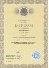 utopian realism my doctoral diploma