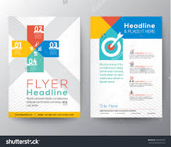 brochure flyer graphic design layout vector stock vector  brochure flyer graphic design layout vector template in a4 size