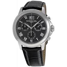 raymond weil men s tradition chronograph watch