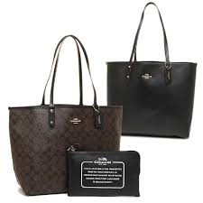 Coach Travel Oversized Large Multifunction Monogram Tote in Black ...