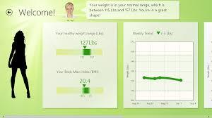 Weight Bmi Tracker App For Windows 8