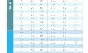 Stride Rite Size Chart