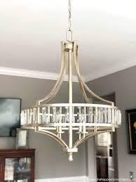 builder grade chandelier edited 1 update builder grade chandelier builder grade chandelier makeover