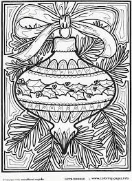 Small Picture Christmas Ornament For Christmas Coloring Pages Printable