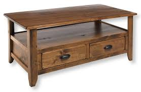 Wooden Coffee Tables With Drawers Wooden Coffee Table With Storage Drawers Cherry Coffee Tables With