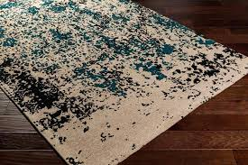 teal grey rug dark teal grey contemporary rug teal blue and grey rugs