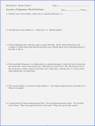 algebra 1 solving equations worksheet system equations word problems worksheet algebra 1 luxury system