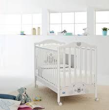 unusual nursery furniture. White Pali Crib With Wheels Base For Cool Nursery Furniture Ideas Unusual R