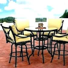 bar height outdoor table cover furniture covers garden and chairs patio set kitchen extraordinary