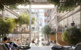 Norman foster office Presentation Foster Partners Reveals Luxembourg Office Scheme News Architects Journal Tecno Spa Foster Partners Reveals Luxembourg Office Scheme News