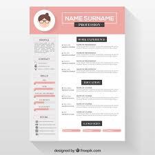 Free Resume Download Templates Top Free Resume Templates Freepik