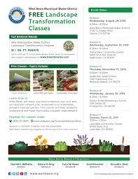 landscape transformation flyer