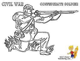 Soldier Coloring Page