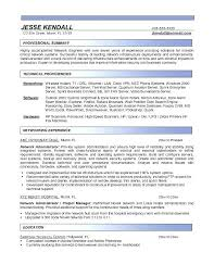 Network Administrator Resume Sample Best Of Production Administrator
