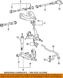 toyota oem 93 98 t100 front suspension torsion sway bar 4816234031 image is loading toyota oem 93 98 t100 front suspension torsion