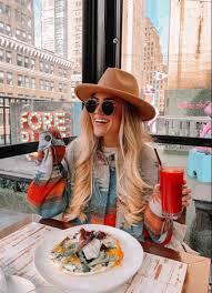 Addie Kirk in 2021 | Winter fashion, Fashion, Floppy hat