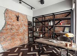 Industrial home office Room Industrial Home Office Decorating Will Feel Like Office Work Dwellideas Industrial Home Office Decorating Will Feel Like Office Work