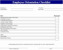 new employee orientation schedule new employee orientation checklist template beautiful orientation