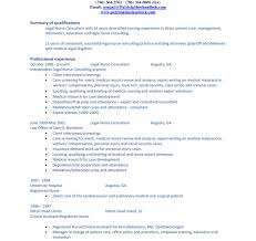 Professional Summary Template Sampleprofile Resume Professional Summary Template Examples Legal 10