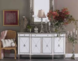 ... Sofia Mirrored Buffet Table Antique Mirrored Sideboards ...
