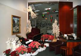 office holiday decor. Full Office Winter Holiday Scene By Interior Tropical Gardens Decor