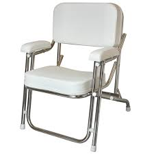 kingfish ii aluminum folding deck chair