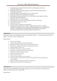 Free it resume templates microsoft word