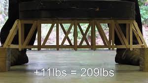 Popsicle Stick Bridge Designs Strong Popsicle Stick Bridge Strong Bridge Designs