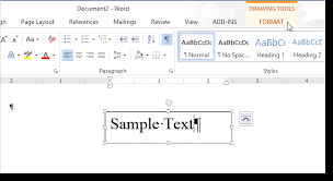 Deleting dotted lines in word. How To Change The Direction Of Text In Word 2013