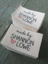 A super cheap and easy way to make your own product tags! Label ... & Twill, One and One-Half Inch Ribbon, Spool - Flat or Folded, CUSTOM Printed  Sew-in Fabric Label (natural and white) Adamdwight.com