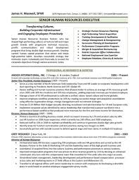 10 Human Resources Executive Resume Writing Sample Hr Coordinator