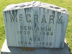 Benjamin McCrary (1830-1884) - Find A Grave Memorial