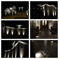 custom landscape lighting ideas. Our New Up-lighting And Pathway Lighting. Installed By Custom Landscape Lighting Ideas S