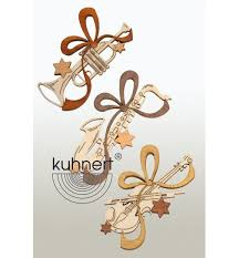 Baumbehang Musikinstrumente 6er Set Von Drechslerei Kuhnert
