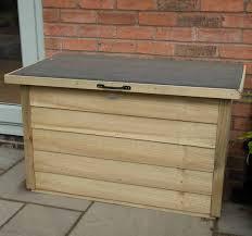 garden storage box pressure treated